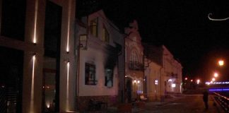 В Ужгороді намагалися спалити офіс Товариства угорської культури - today.ua