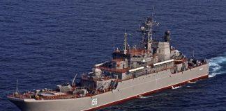 Російський військовий корабель увійшов у Середземне море - today.ua