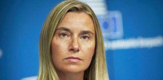Могеріні закликала Росію негайно звільнити українські кораблі та екіпаж - today.ua