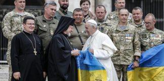 """Папа Римський зустрівся з ветеранами АТО у Ватикані"""" - today.ua"""