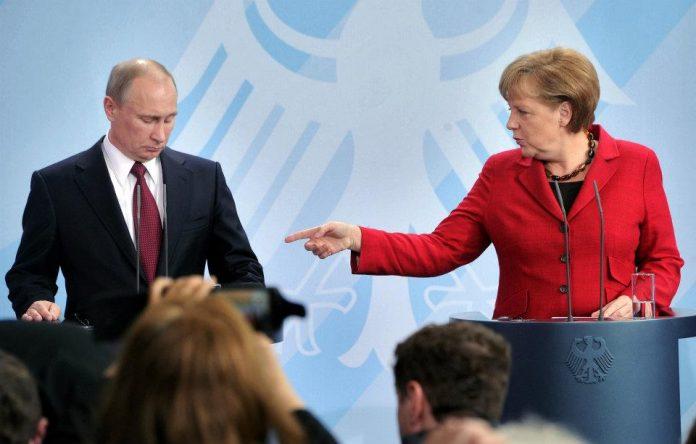 Меркель обговорила з Путіним питання України - today.ua