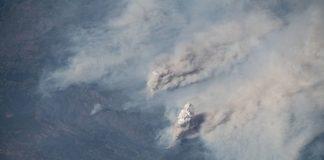 Пожары в Калифорнии сфотографировали из космоса - today.ua