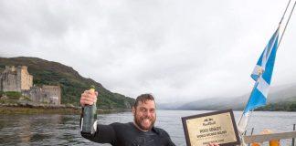 Британський рекордсмен провів у морі 74 дні - today.ua