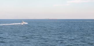 Появилось видео провокации российских кораблей в Азовском море - today.ua