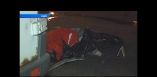 Женщина перебегала через восемь полос: в столице произошло ДТП (видео) - today.ua