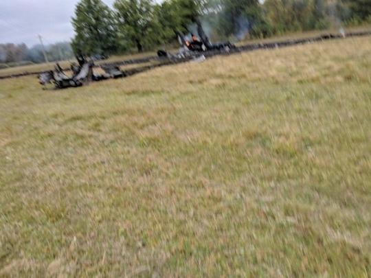 У Росії впав надзвуковий винищувач (фото)
