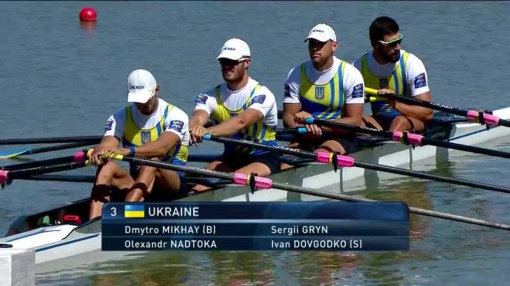 Українці здобули бронзу на Чемпіонаті світу з академічного веслування