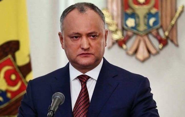 Тимчасово відсторонений: Додон більше не президент Молдови - today.ua