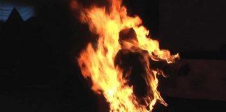 Из-за смерти близкого человека, молодой парень пытался сжечь себя заживо - today.ua