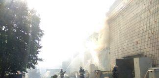 Лише через добу вдалося ліквідувати пожежу на картонному комбінаті у Житомирі — ЗМІ - today.ua