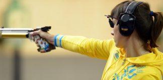 """Чемпіонат світу зі стрільби: Юлія Костевич виграла """"золото"""" і завоювала олімпійську ліцензію - today.ua"""