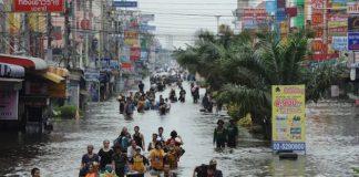Из-за наводнений в Таиланде пострадали более 58 тысяч человек - today.ua