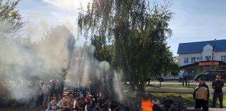 """Уже 11 днів на Волині страйкують гірники """" - today.ua"""
