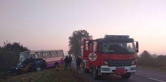 В страшном ДТП с рейсовым автобусом погибли двое - today.ua