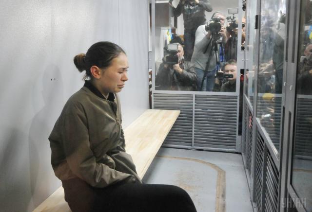 Харківська трагедія: Зайцевій стало погано у суді - today.ua