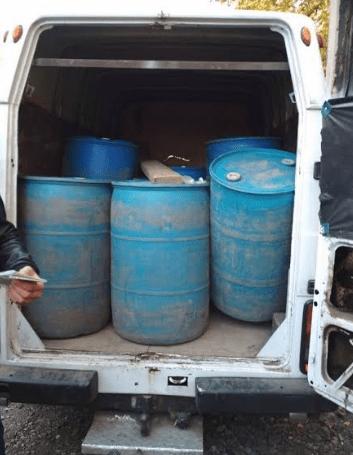 У Вінницькій області вилучили 3 тисячі літрів нелегального спирту