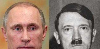 Путина обвинили в плагиате Гитлера - today.ua