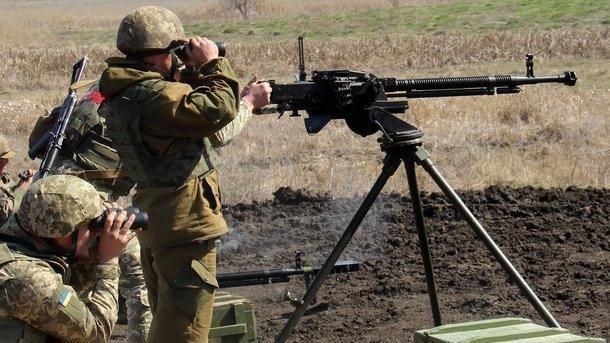 ВСУ уничтожили еще одну огневую точку боевиков: опубликовано видео - today.ua