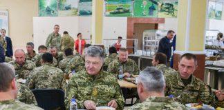 Порошенко: нова система харчування в ЗСУ - символ перебудови армії - today.ua