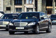Автобаза президента витратила 10 мільйонів на два Мерседеси S-класу - today.ua