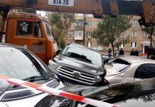 ДТП на Лесі Українки: хто заплатить за пошкоджені авто - today.ua