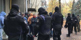 В центре Киева задержали несовершеннолетних с балаклавами, палками и газовыми балончиками - today.ua