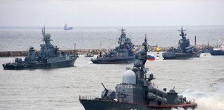 """Угроза на Азове: Россия перебросила еще два военных корабля"""" - today.ua"""