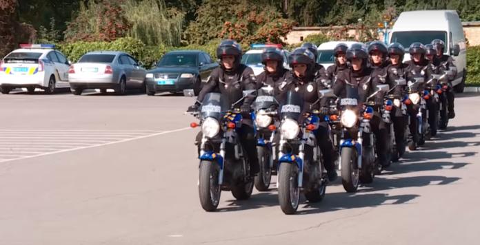 Патруль на мотоциклах заработал в Украине (фото, видео) - today.ua