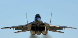 Истребитель МиГ-29 разбился в России - today.ua