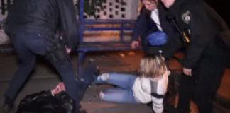 """У столиці сталася сутичка між вагітною жінкою та копами (відео 18+)"""" - today.ua"""