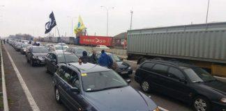 """Поліція порушила 18 кримінальних справ під час акцій протесту """"євробляхерів"""" - today.ua"""