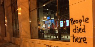 У Будинку профспілок не працює KFC, проти відкриття якого протестували активісти С14 - today.ua