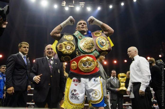 Усик занял четвертое место в рейтинге лучших боксеров мира - today.ua