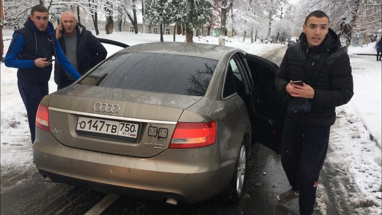 На Прикарпатті водій на російських номерах вчинив бійку з АТОшником - today.ua
