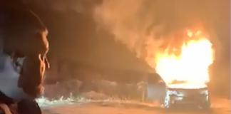 """Головний """"євробляхер"""" спалив свій Land Rover в знак протесту - today.ua"""