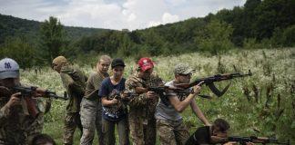 """Лагерь националистов: на Закарпатье подростков учат стрелять и убивать"""" - today.ua"""