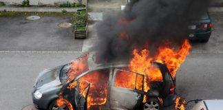 Тройное ДТП в столице: в автомобиле взорвался газовый баллон - today.ua