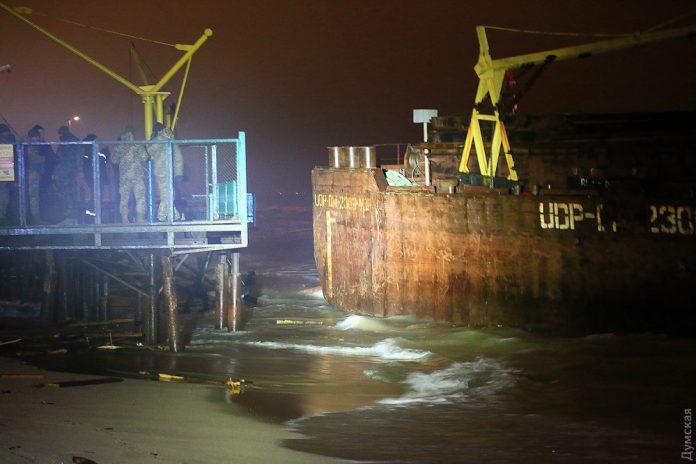Російське контрабандне судно потрапило в аварію у Чорному морі - today.ua