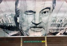 У столичному метро з'явився мурал із зображенням Богдана Ступки - today.ua