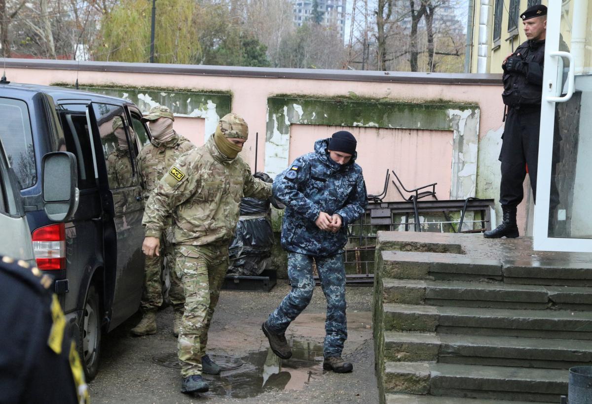 Все украинские моряки, удерживаемые в РФ, назвали себя военнопленными - today.ua