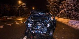 ДТП під Києвом: від удару автівку відкинуло на 30 метрів - today.ua