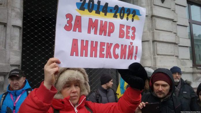 У Росії пройшли пікети з вимогою звільнити українських моряків - today.ua