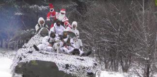 """Украинские военные записали на """"нуле"""" трогательное новогоднее видеопоздравление - today.ua"""