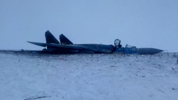 Катастрофа винищувача Су-27: з'явились фото - today.ua