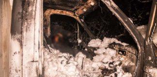 В столице мужчина заживо сгорел в собственном авто - today.ua