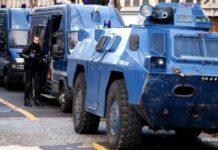 Протести в Парижі: на вулицях розміщена бронетехніка, закрито кордон з Бельгією - today.ua