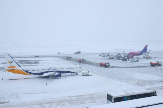 "У &quotБорисполі"" через непогоду переносять рейси - today.ua"