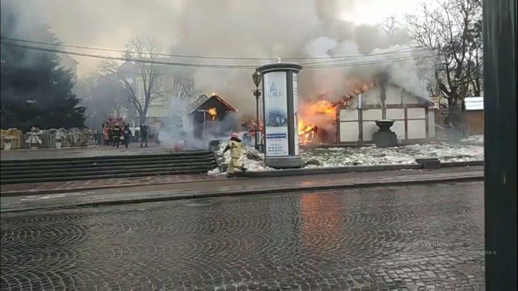 У центрі Львова на Різдвяному ярмарку прогримів вибух - today.ua