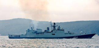 З окупованого Криму в сторону Азовського моря прямує російський фрегат з торпедами і бомбометами - today.ua