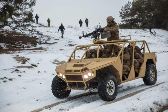 Украинские военные испытали современный армейский багги - today.ua